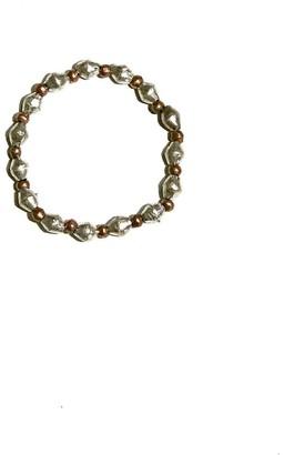 Twine & Twig Metal Single Stack Bracelet in Silver