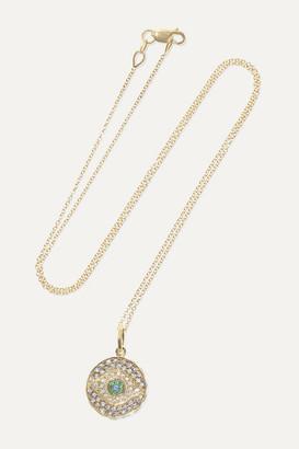 Ileana Makri Dawn Candy 18-karat Gold Multi-stone Necklace