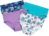 Hanes 4-pk. Brief Panties - Girls 6-16
