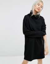 Weekday Turtleneck Swing Dress