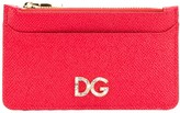 Dolce & Gabbana logo plaque card case