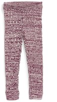 Tea Collection Infant Girl's Sweater Knit Leggings