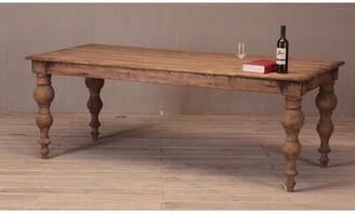Sarreid Ltd. Bixby Solid Wood Dining Table