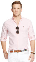 Polo Ralph Lauren Men's Long Sleeve Solid Oxford Shirt