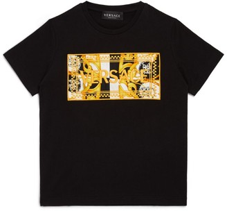 Versace Logo Baroque T-Shirt (4-14 Years)
