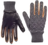 HONNS Parker Quilted Wool Leather Gloves