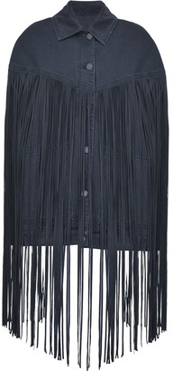Pinko Fringed Denim Jacket