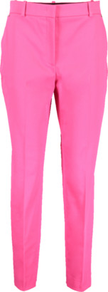Emilio Pucci Cotton Stretch Front Zip Pant