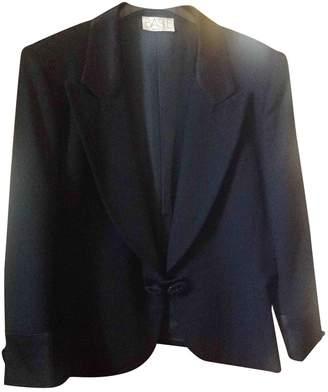 Basile Black Wool Jacket for Women