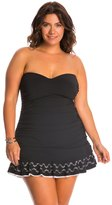 Profile by Gottex Plus Size Enchantment Bandeau Swim Dress 8140269