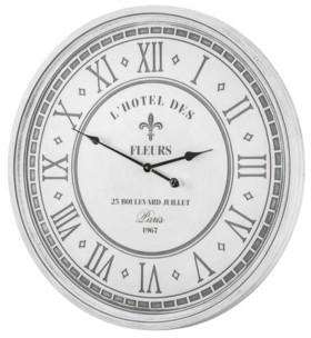 Crystal Art Gallery American Art Decor L'Hotel Des Fleurs 25 Blvd Juillet Paris Oversized Wall Clock