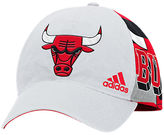 ADIDAS TEAM adidas Chicago Bulls NBA Two-Toned Flex Performance Fitted Hat