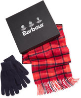 Barbour Men's Tartan Scarf & Glove Set, A Macy's Exclusive Style