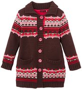 Catimini Girl's MANTEAU MAILLE Coat Coat