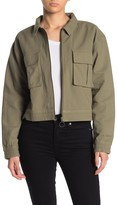 Abound Zip Front Cargo Jacket