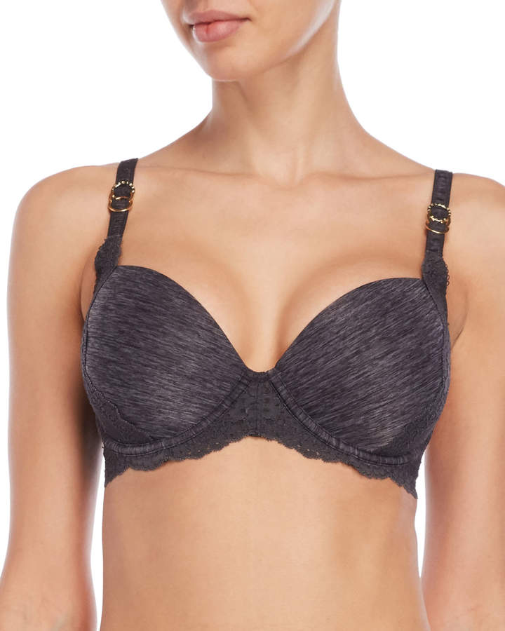 Smith Lace Trim Push-Up Bra