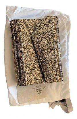 Jimmy Choo Candy Gold Plastic Clutch bags