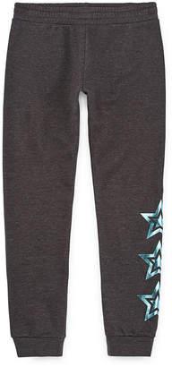 Xersion Girls Cotton Fleece Cuffed Jogger Pant - Preschool / Big Kid