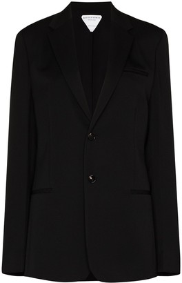 Bottega Veneta Single-Breasted Blazer Jacket
