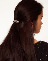 River Island Gold Spike Hair Clip