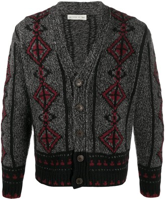Etro Embroidered Knit Cardigan