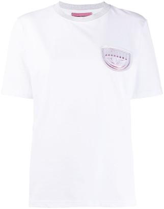 Chiara Ferragni Flirting patch T-shirt