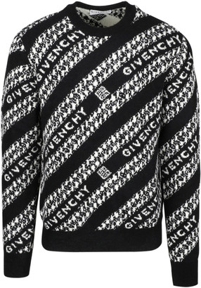 Givenchy Diagonal Logo Sweater