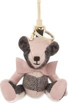 Burberry Thomas Bear checl cashmere keyring