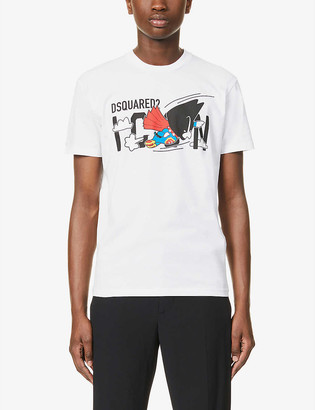 DSQUARED2 Icon logo-print cotton-jersey T-shirt