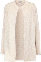 James Perse Cotton linen-blend cardigan