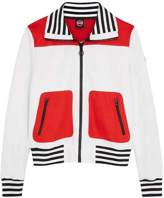 Colmar White Panelled Jersey Jacket