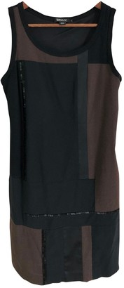 DKNY Black Wool Dress for Women