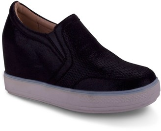 Wanted Slip-On Wedge Fashion Sneakers - Comeback