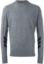 Oamc textured pattern pullover