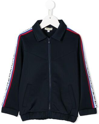 Kenzo Kids Contrast Zipped Sweatshirt