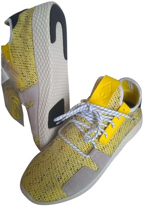 Adidas X Pharrell Williams NMD Hu Yellow Cloth Trainers
