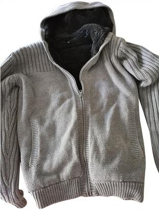 Solid & Striped Grey Synthetic Knitwear & Sweatshirts