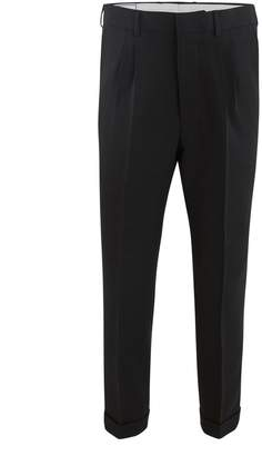 Ami New wool tapered trousers