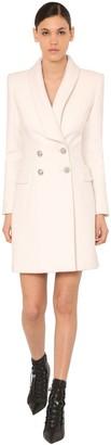 Balmain Double Breast Cloth Wool Coat