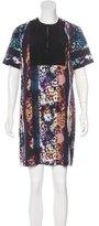 Clover Canyon Abstract Print Mini Dress