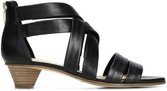 Clarks Mena Silk Leather Sandals