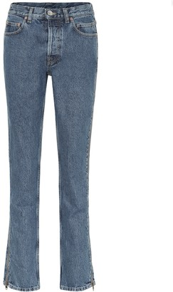 Vetements High-rise slim jeans