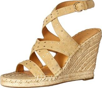 Joie Women's Korrat Stud Espadrille Wedge Sandal