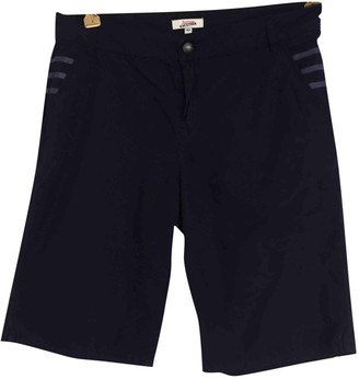 Jean Paul Gaultier Navy Cotton Shorts