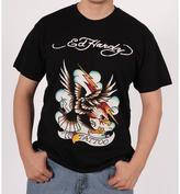Ed Hardy Men's Black Eagle Lightning T-shirt
