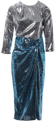 Christian Pellizzari Silver Polyester Dresses