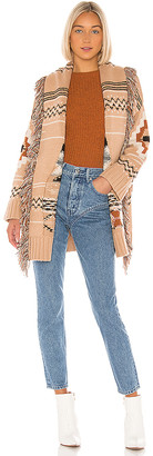 Autumn Cashmere Fringe Belted Jacket