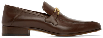 Gucci Brown Phyllis Loafers