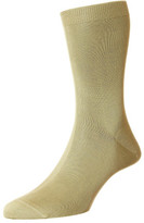 Pantherella Tabbard Cotton Lisle Rib Short Sock