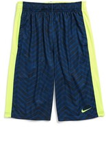 Nike Boy's Fly Gfx Moisture-Wicking Dri-Fit Shorts